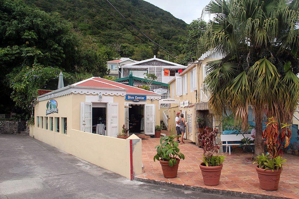 Windwardside op Saba