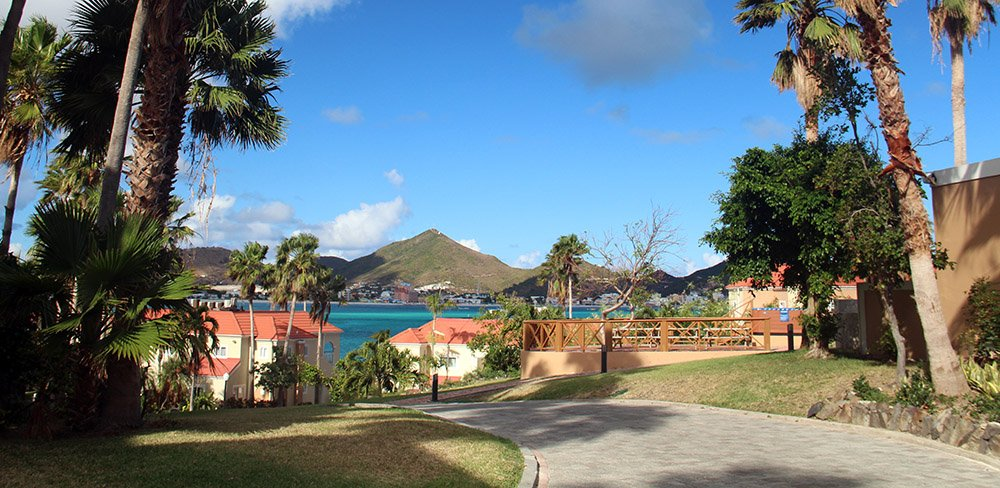 resort op Sint Maarten