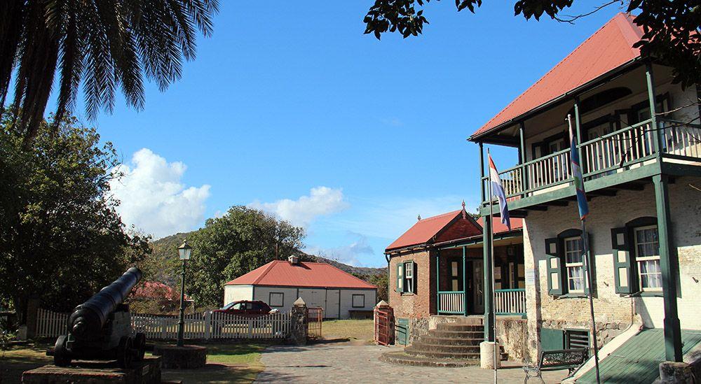 Oranjestad, Statia