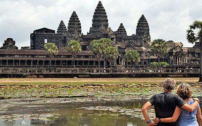 Angkor Wat en de andere tempels bij Siem Reap