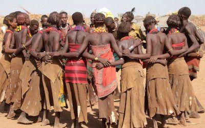 De stammen in Zuid-Ethiopië