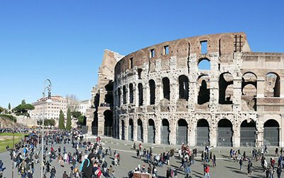 Het Colosseum, iconisch amfitheater van Rome