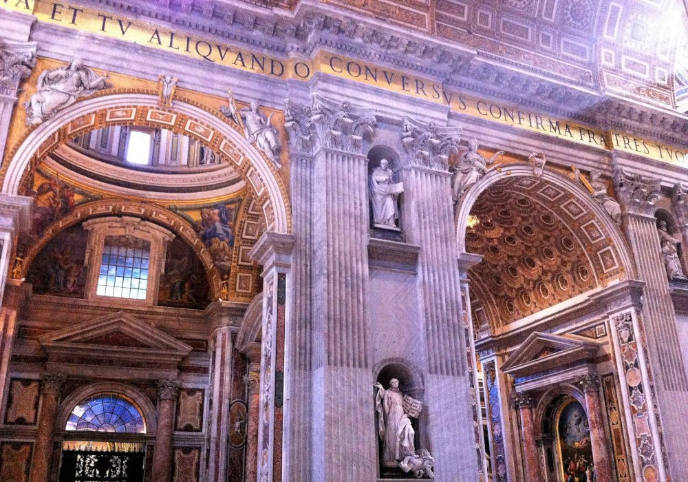 Sint Pieter basiliek in Rome