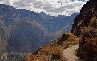 Een trektocht door de Colca Canyon