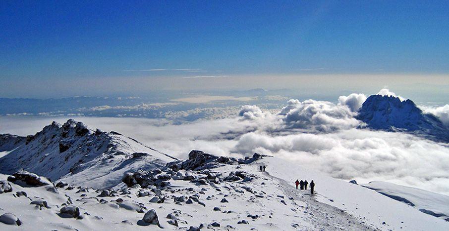 Uitzicht vanaf de summit