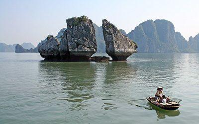 Halong Bay, absoluut een hoogtepunt van Vietnam