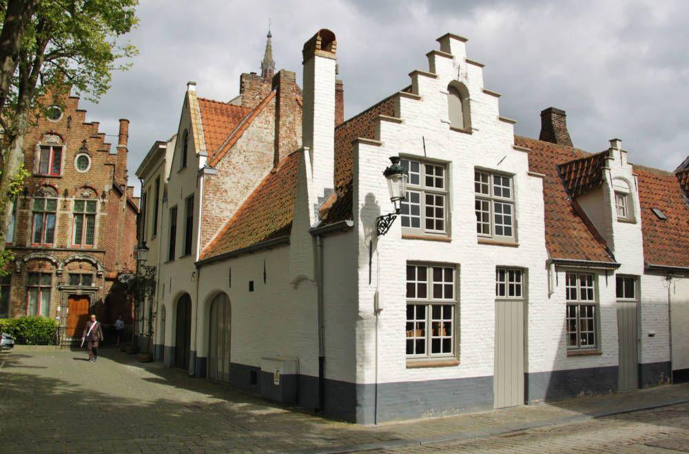 Historisch stadscentrum in België