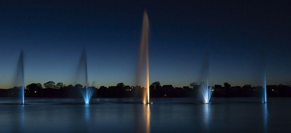 fonteinen in Silkeborg