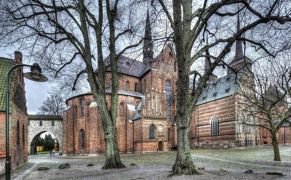 Kathedraal in Roskilde
