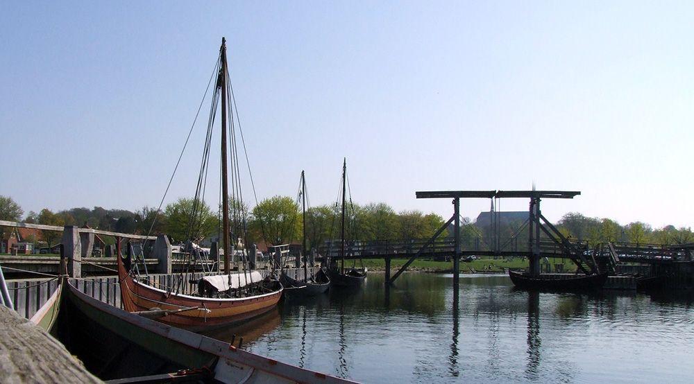 viking-erfgoed - schip bij Roskilde
