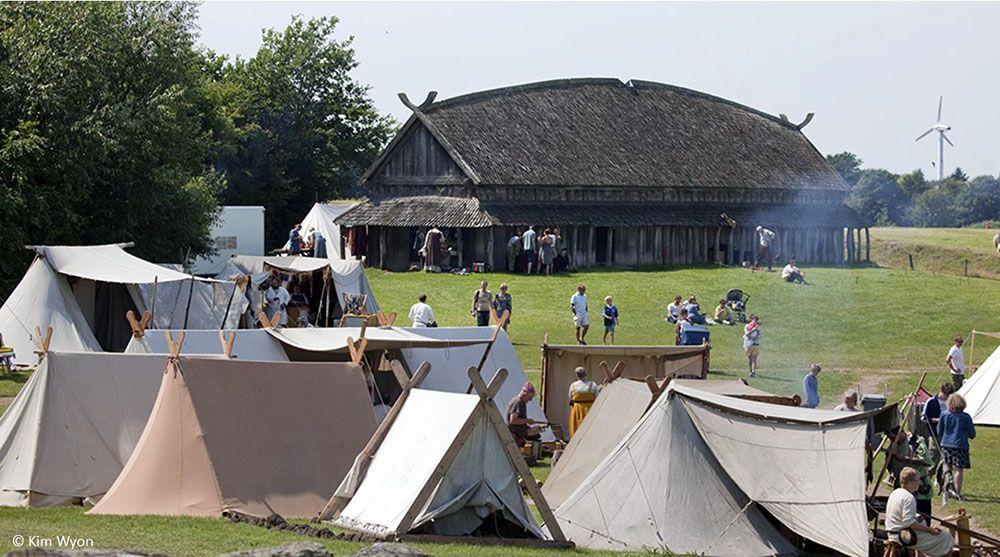 Viking-erfgoed - Trelleborg bij Slagelse