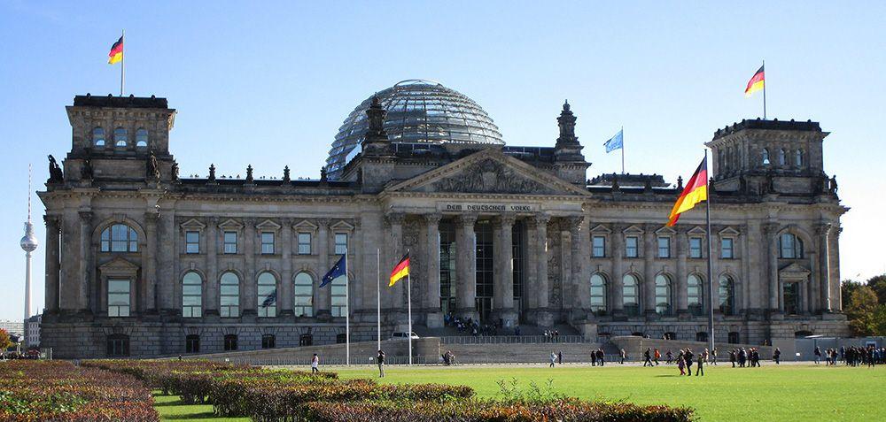 Reichstag (Bondsdag) in Berlijn