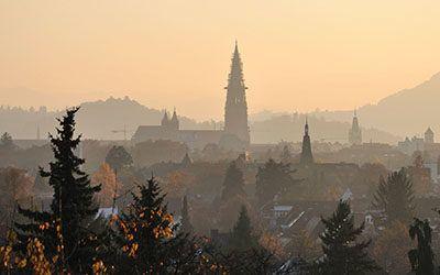 Freiburg, heerlijke stad in Zuid-Duitsland