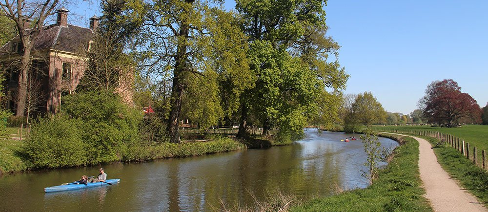kasteel van Rhijnauwen aan de Kromme Rijn