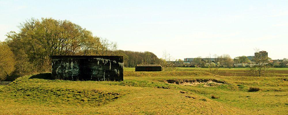 Batterij bij de Schalmberg