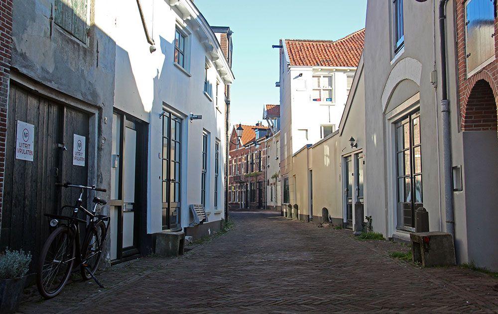 straatbeeld van Amersfoort