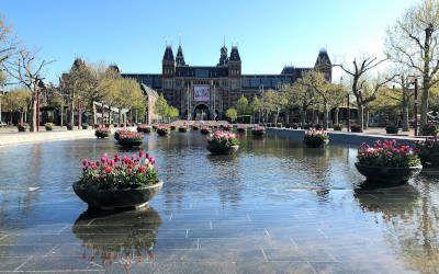 De bezienswaardigheden van Amsterdam op een rustig moment