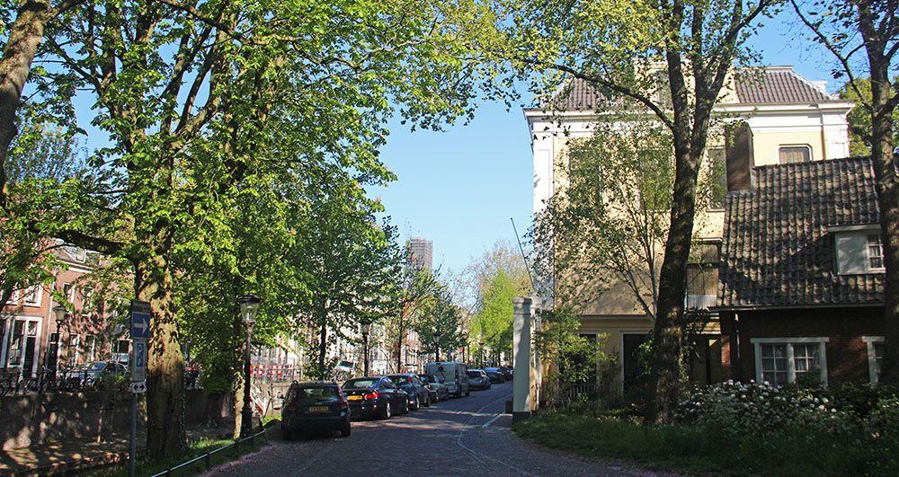 Straat aan de Singel