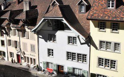 """Aarau, historische stad van de """"dakhemels"""""""
