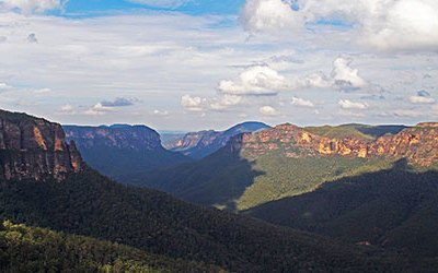 De Blue Mountains