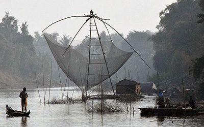 Boottocht van Battambang naar Siem Reap