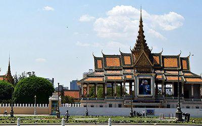 Phnom Penh: Koninklijk Paleis en Zilveren Pagoda