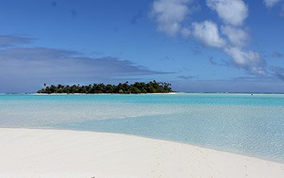 De betoverende lagune van Aitutaki