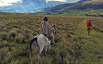 Per paard of fiets naar de Cotopaxi vulkaan
