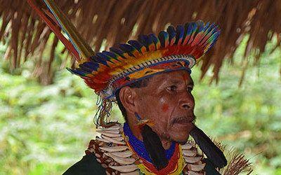 Bezoek aan de shaman in Cuyabeno Reserve