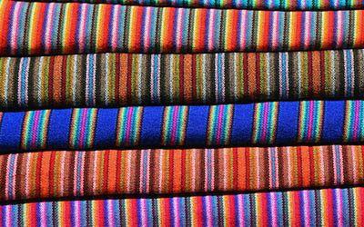 De weekmarkt van Otavalo