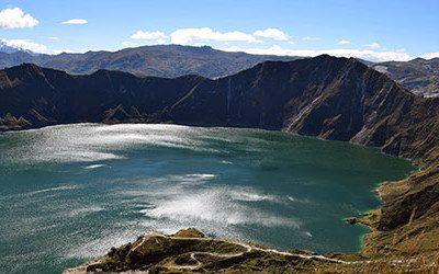 Het meer van Quilotoa