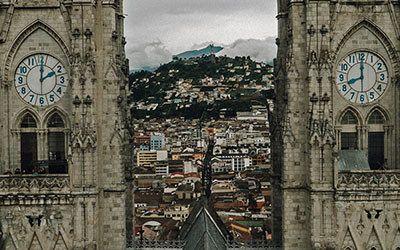 De oude stad van Quito ontdekken