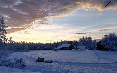 Een vakantie naar Lapland in de winter