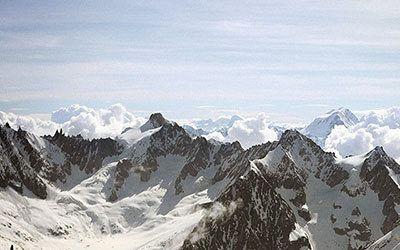 Wandelen bij Chamonix