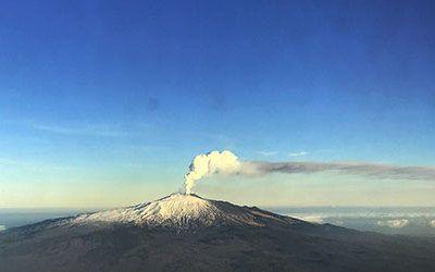 Op Sicilië de Etna beklimmen