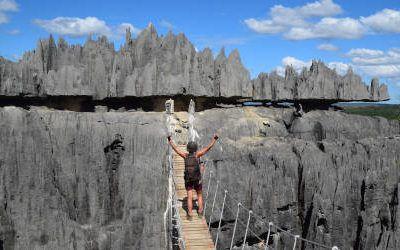 Tsingy de Bemaraha: avontuurlijke wandeltochten
