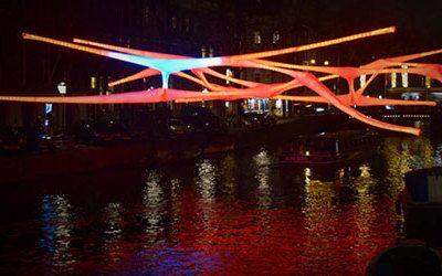 Het feeërieke Amsterdam Light Festival