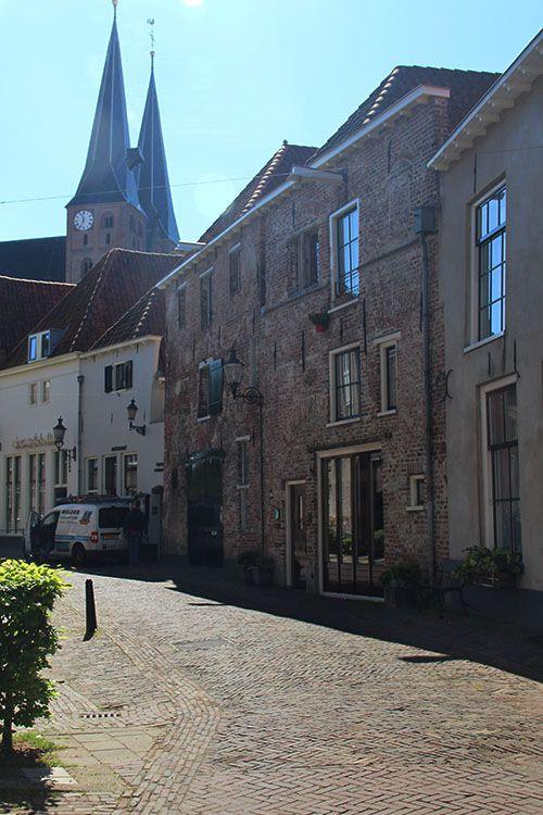 Bergkwartier met de Bergkerk in Deventer