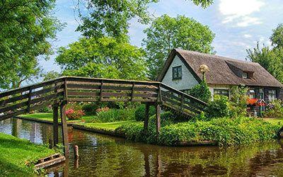 Giethoorn en Nationaal Park de Weerribben-Wieden