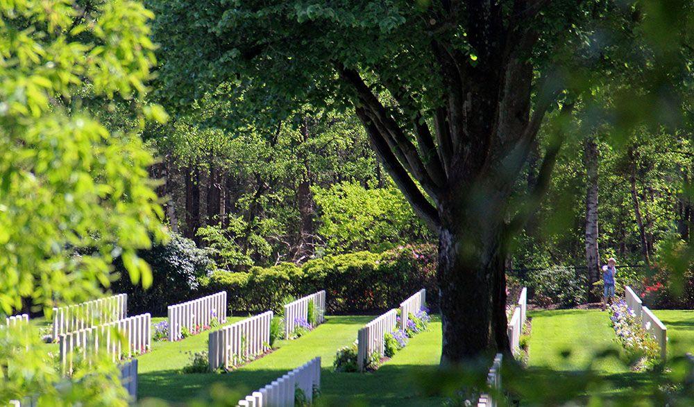 Canadese begraafplaats bij de Holterberg