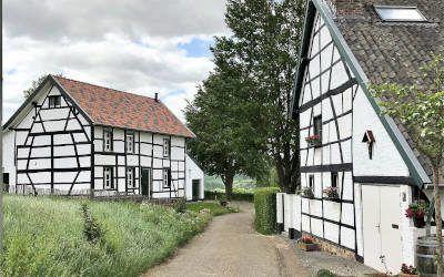 Limburg, heuvelachtig gebied en het buitenland dichtbij