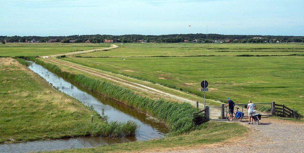 fietsen door Friesland