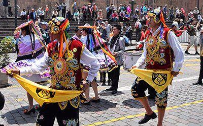 Cuzco, de vroegere hoofdstad van het Incarijk