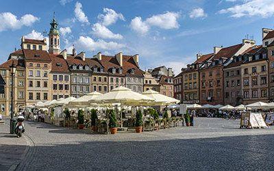 Stedentrip naar Warschau