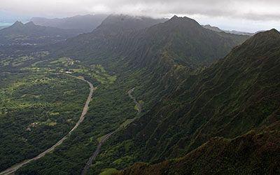 Wandelen op Hawaii