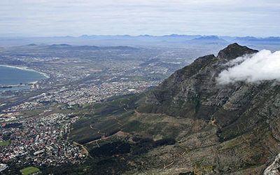 De Tafelberg beklimmen