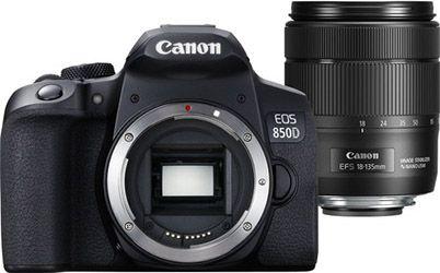 Canon 850D met lens