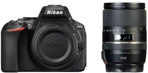 Nikon D5600 met Tamronlens