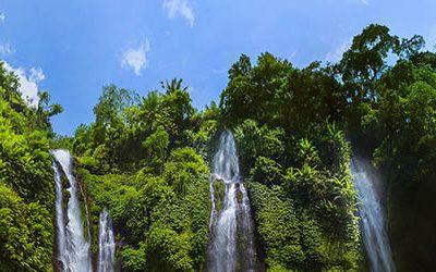 Watervallen van Bali