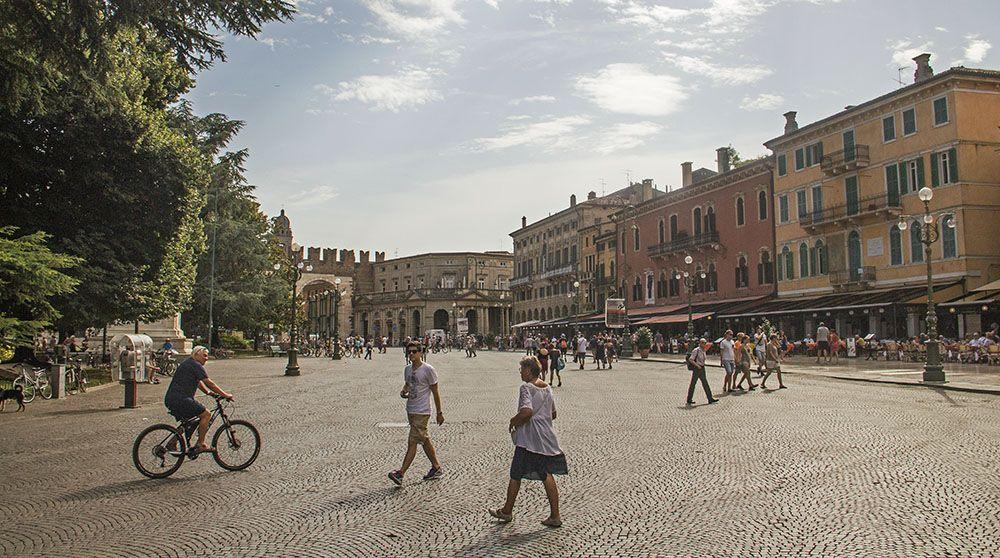 Plein in Verona